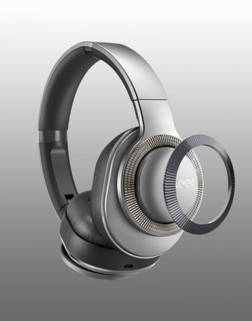 Cleer Flow Wireless headphones silver