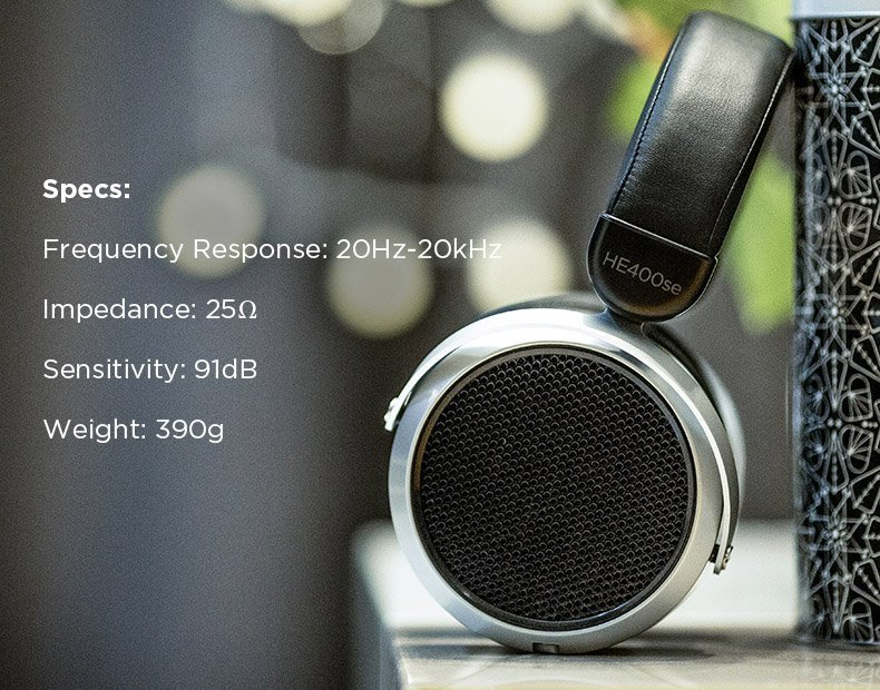 Hifiman headphones he400se description 7