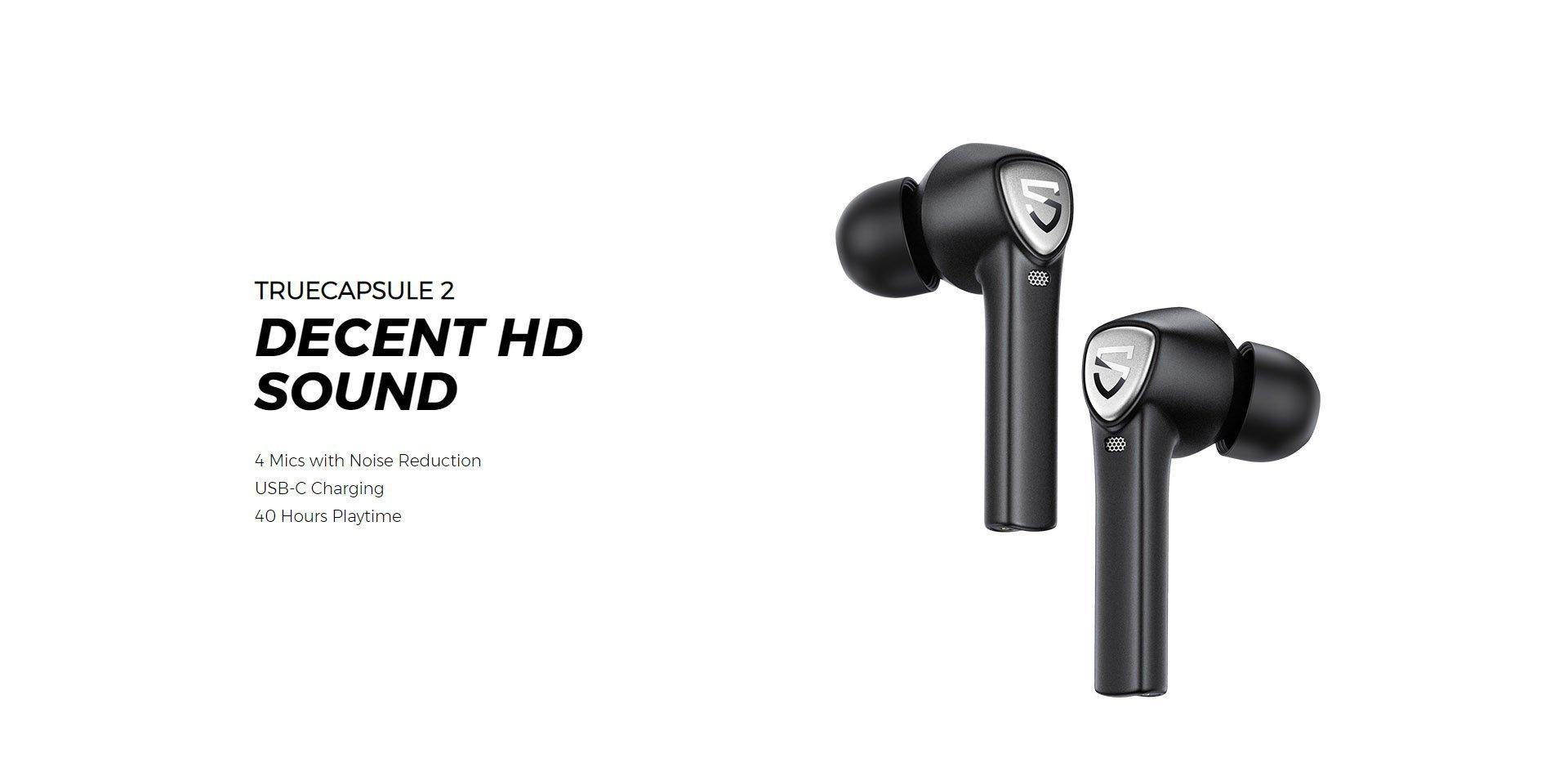 soundpeats true air 2 wireless earbuds