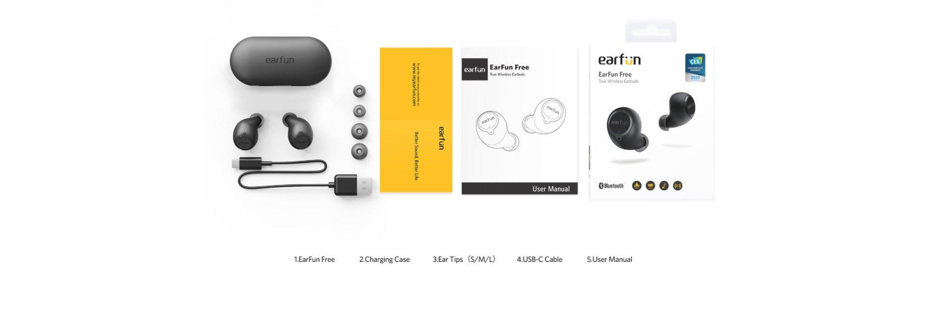earfun free wireless earbuds 5