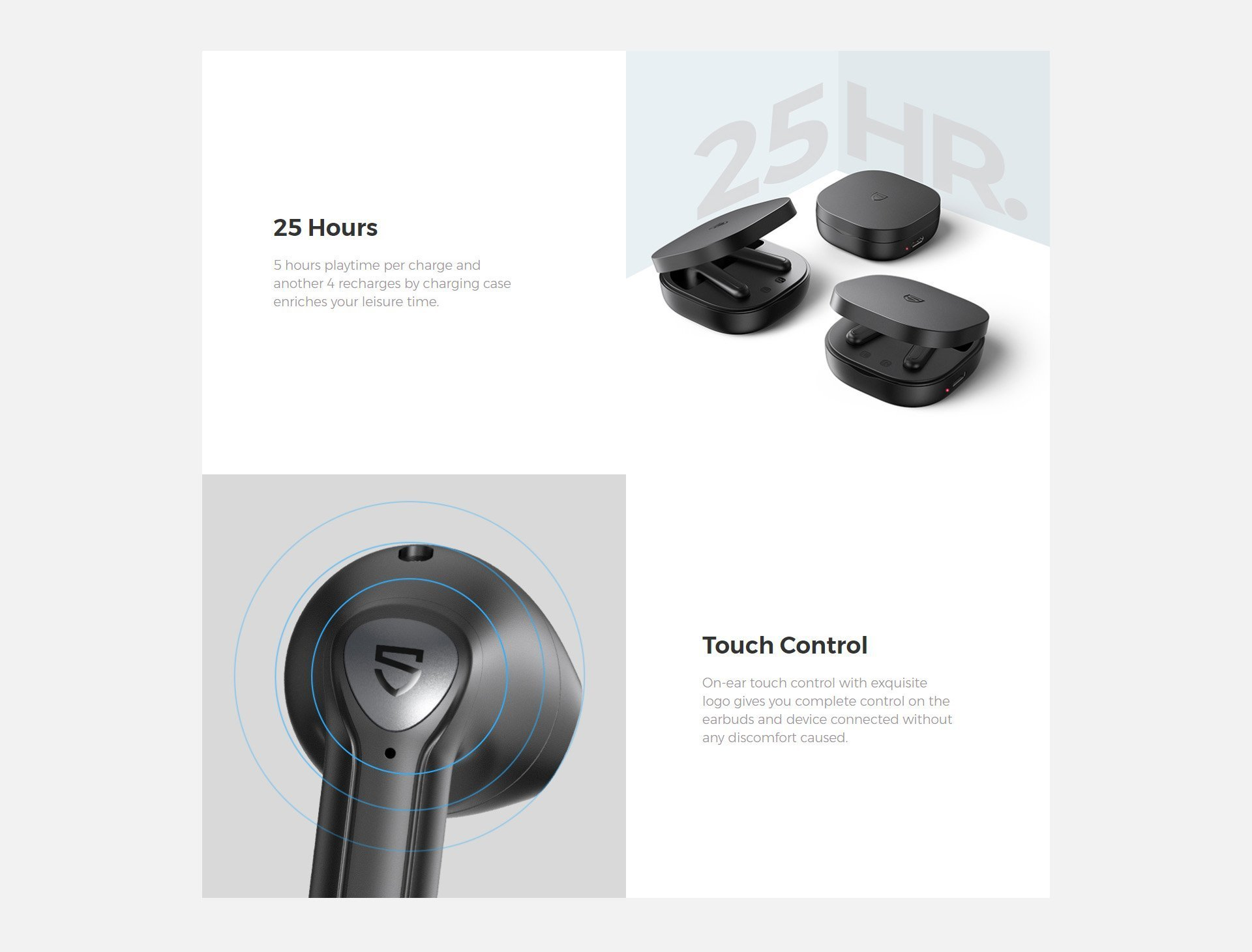 soundpeats trueair 2 earphones 3