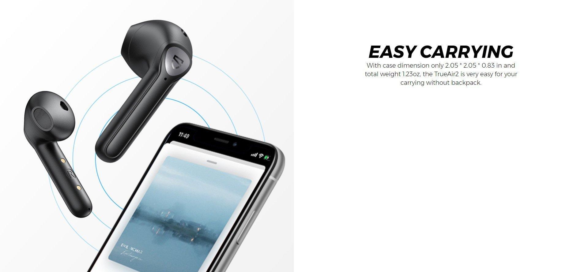 soundpeats trueair 2 earphones 5