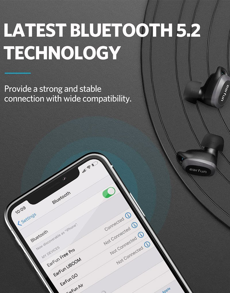 earfun free PRO wireless earbuds 4