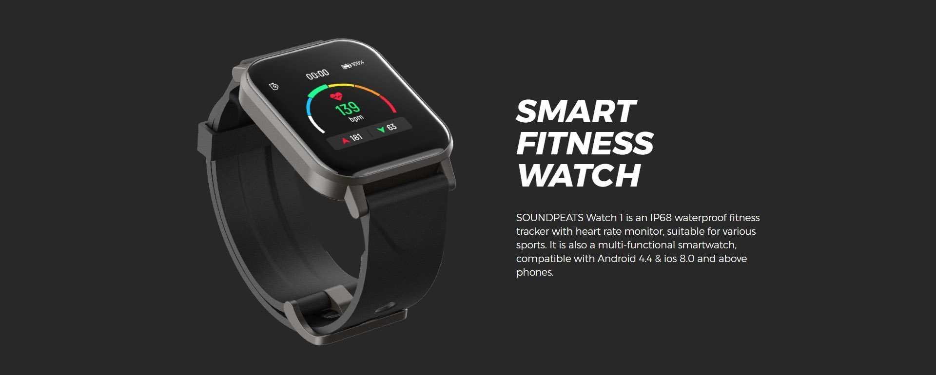 smart watch soundpeats 2