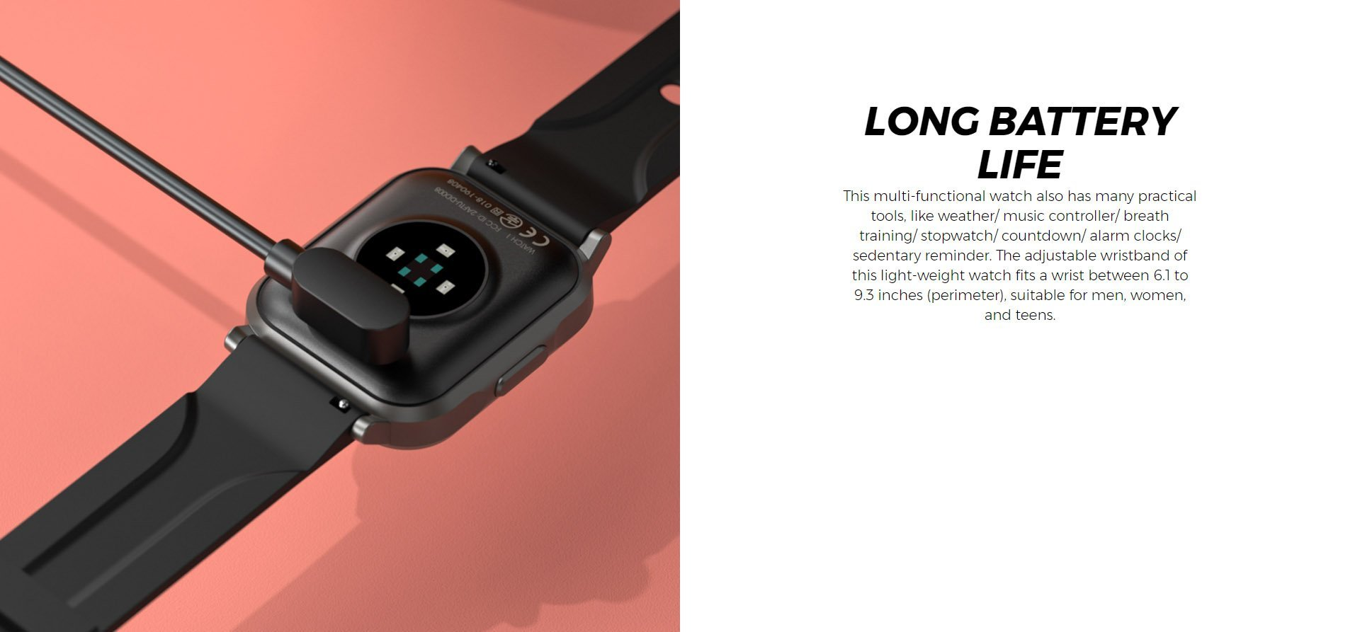 smart watch soundpeats 7