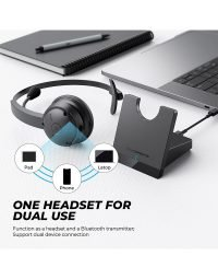 Bluetooth wireless headset with microphone 5